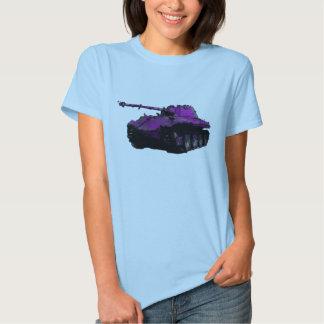 "Color of War ""Purple Military Tank"" T-shirt"