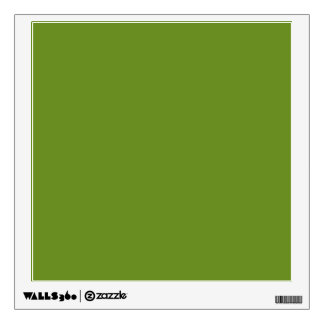 color olive drab wall sticker