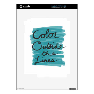 Color Outside the Lines Skins For The iPad 2