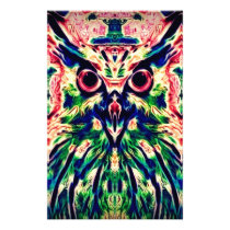 Color Owl Stationery