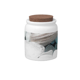 Color Paint Sea Glass Candy Dish