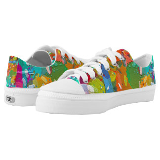 Color/Paint Splatter Sneaker