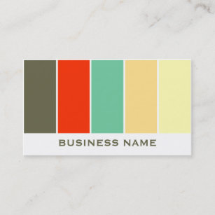 Color palette business cards templates zazzle color palette business card template reheart Gallery