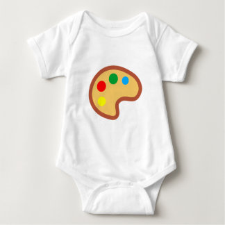 Color palette pallet style situation baby bodysuit