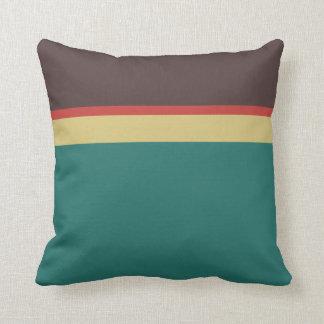 Color palette throw pillows