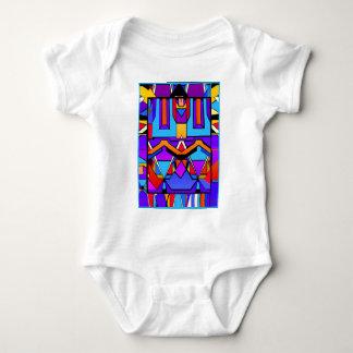 Color pallet baby bodysuit