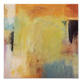 Color Passages - Abstract Painting Posters