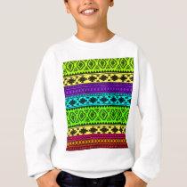 color pattern-01 sweatshirt