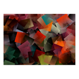 color pattern large business cards (Pack of 100)