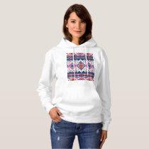 Color pattern hoodie