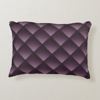 color pattern accent pillow