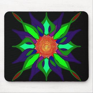 Color pedals mouse pad