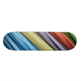 Color Pencil Art Skateboard