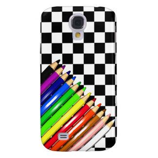 color pencil crayons samsung galaxy s4 case