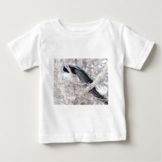Color Pencil Peacock in Tree Infant T-shirt