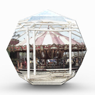 Color Pencil Sketch of Antique Carousel Awards