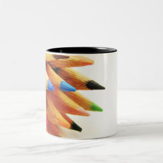 color pencil Two-Tone coffee mug