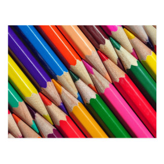 color pencils crayons background texture postcard