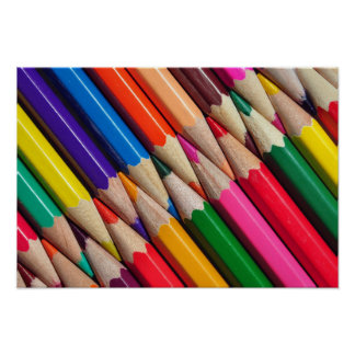 color pencils crayons background texture poster