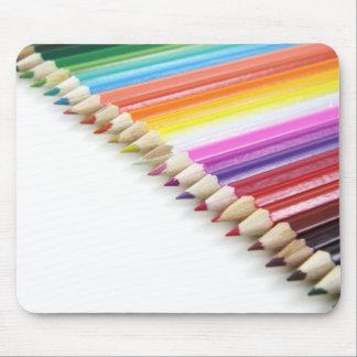 Color Pencils Mouse Pad