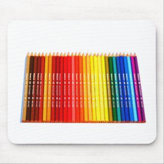 Color pencils mousepad