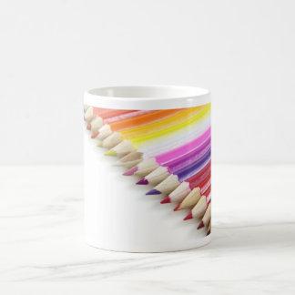 Color Pencils Classic White Coffee Mug