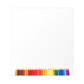 Color pencils notepad