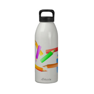 Color Pencils Drinking Bottle