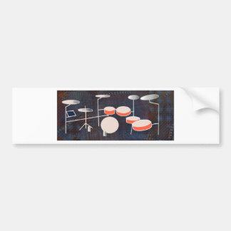Color Percussion Bumper Sticker