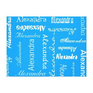 Color personalizado y de encargo impresión en lona estirada