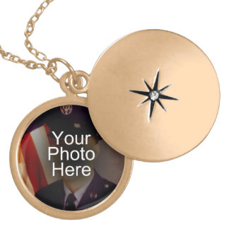 Color Photo Pendant Locket Keepsake Necklace