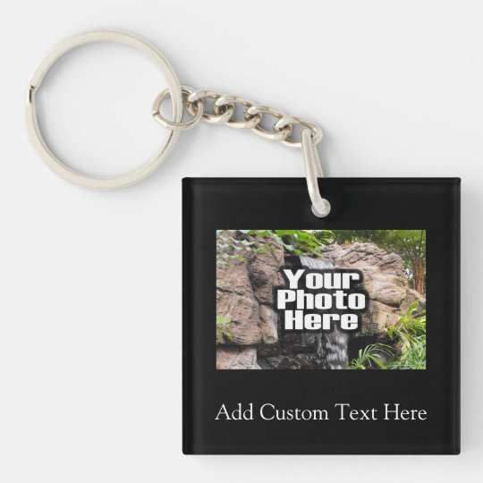 Color Photo Personalized Keychain