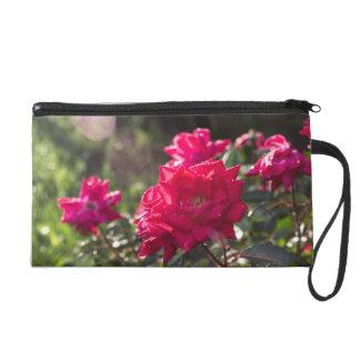 Color Photograph Rose Clutch Wristlet Clutch