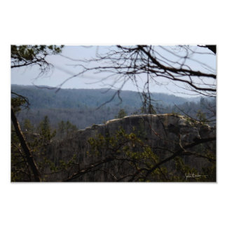 Color Photographic Print Red River Gorge Kentucky