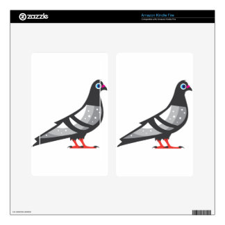 Color Pigeon Dove Kindle Fire Decals