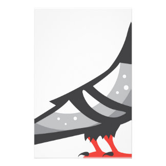 Color Pigeon Dove Stationery
