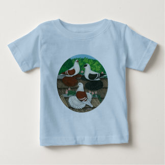 Color Pigeon Trio Baby T-Shirt