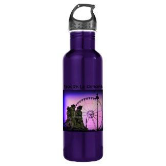 Color Pinhole Place De La Concorde 24oz Water Bottle