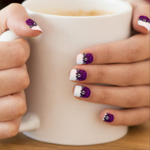 Pinstripe Nail Art Nail Wraps Zazzle