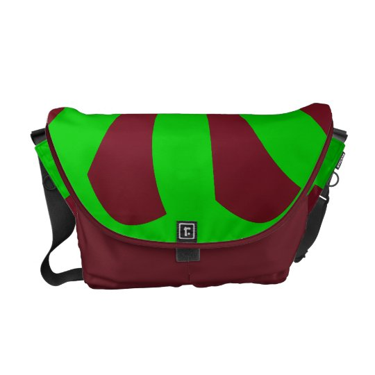 Color Pinwheel Messenger Bag