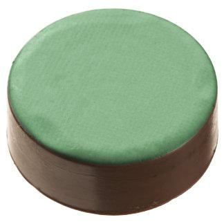 Color Pistachio Green Chocolate Dipped Oreo