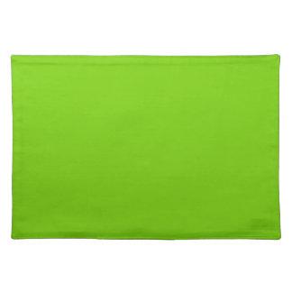 color cloth place mat
