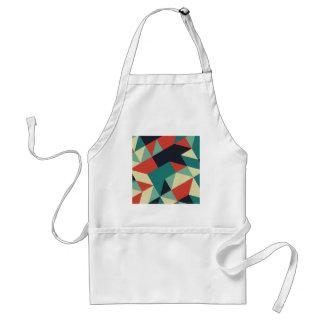 Color Polygons Adult Apron