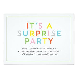 Color Pop Party Invite