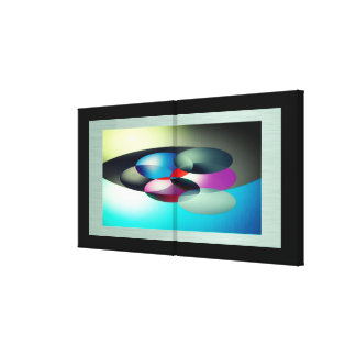 Color Popping Canvas Print