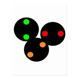Color Position Lights CPLs Postcard