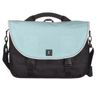 color powder blue laptop computer bag
