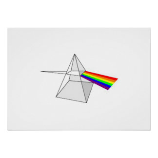 Color Prism Poster
