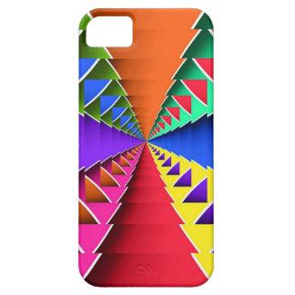 Color psicodélico profundo iPhone 5 funda