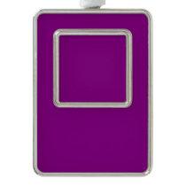 Color purple christmas ornament